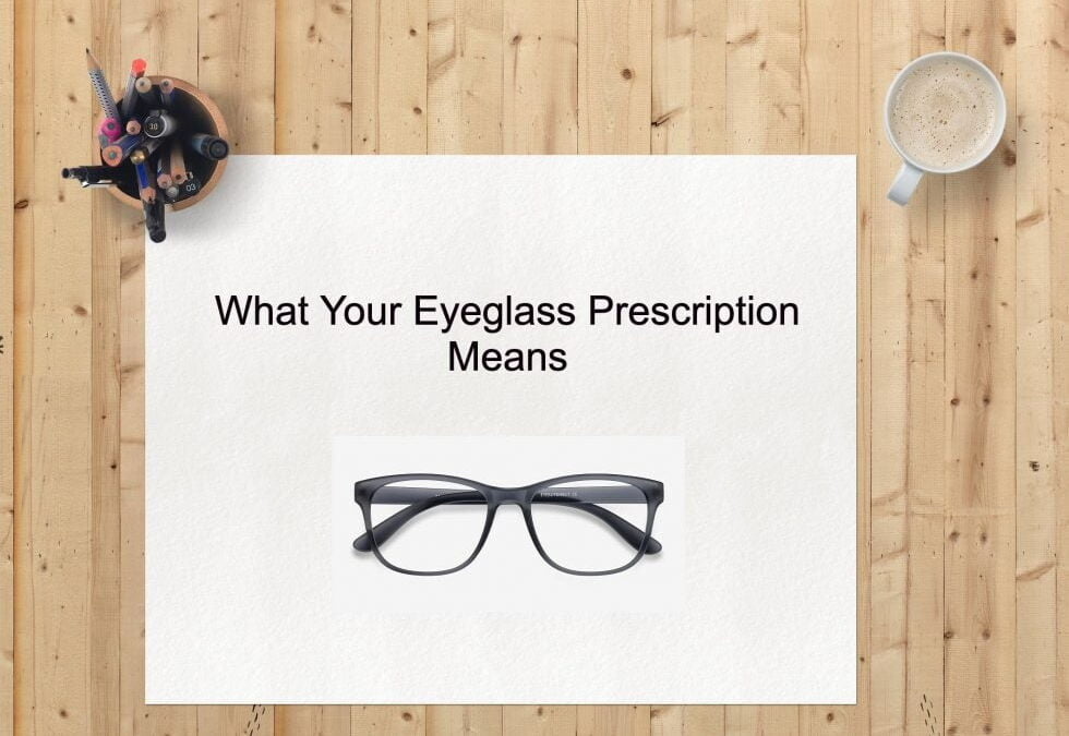 What Your Eyeglass Prescription Means